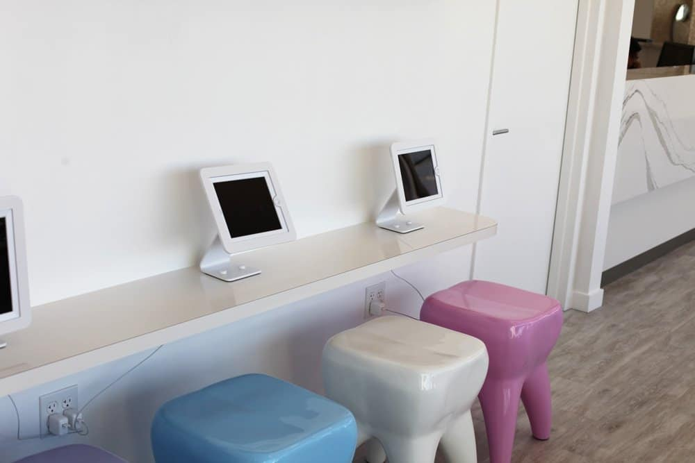 Jericho Smiles Orthodontics & Pediatric Dentistry Long Island NY Ipad_Station